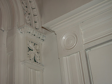 Woodwork at first floor archway