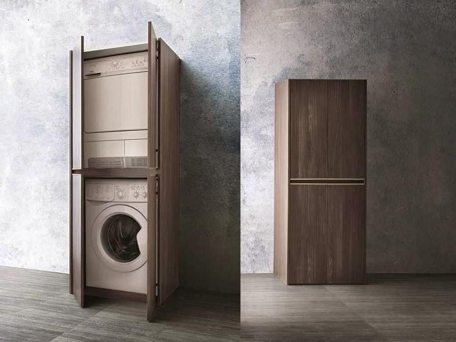 ... Lavatrice: Arredaclick un mobile bagno con porta lavatrice in meno di