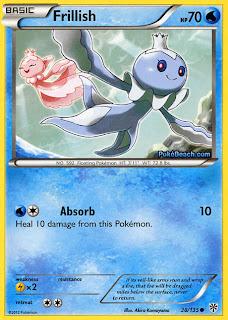 Frillish Plasma Storm Pokemon Card