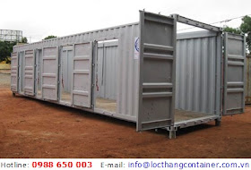 Container Open Side 40 Feet