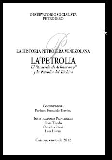 La Historia Petrolera Venezolana