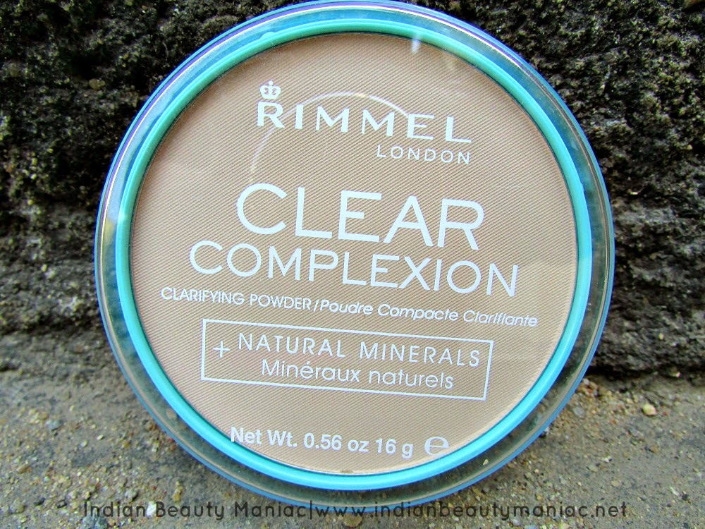 Rimmel Clear Complexion Powder in Transparent, Rimmel, Indian Beauty Blogger, Indian Makeup Blogger, Translucent powder, Makeup,