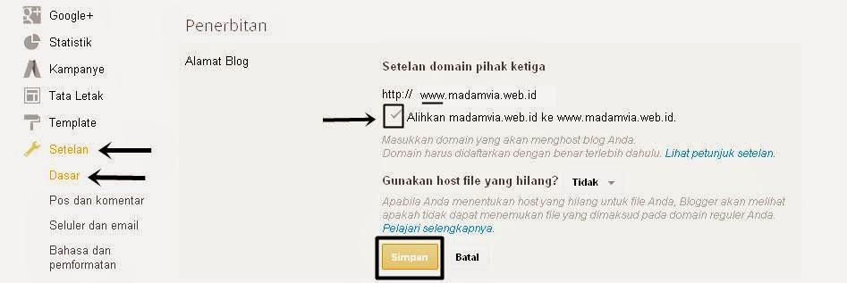 Cara Mengatasi Error 404 Domain Tanpa WWW