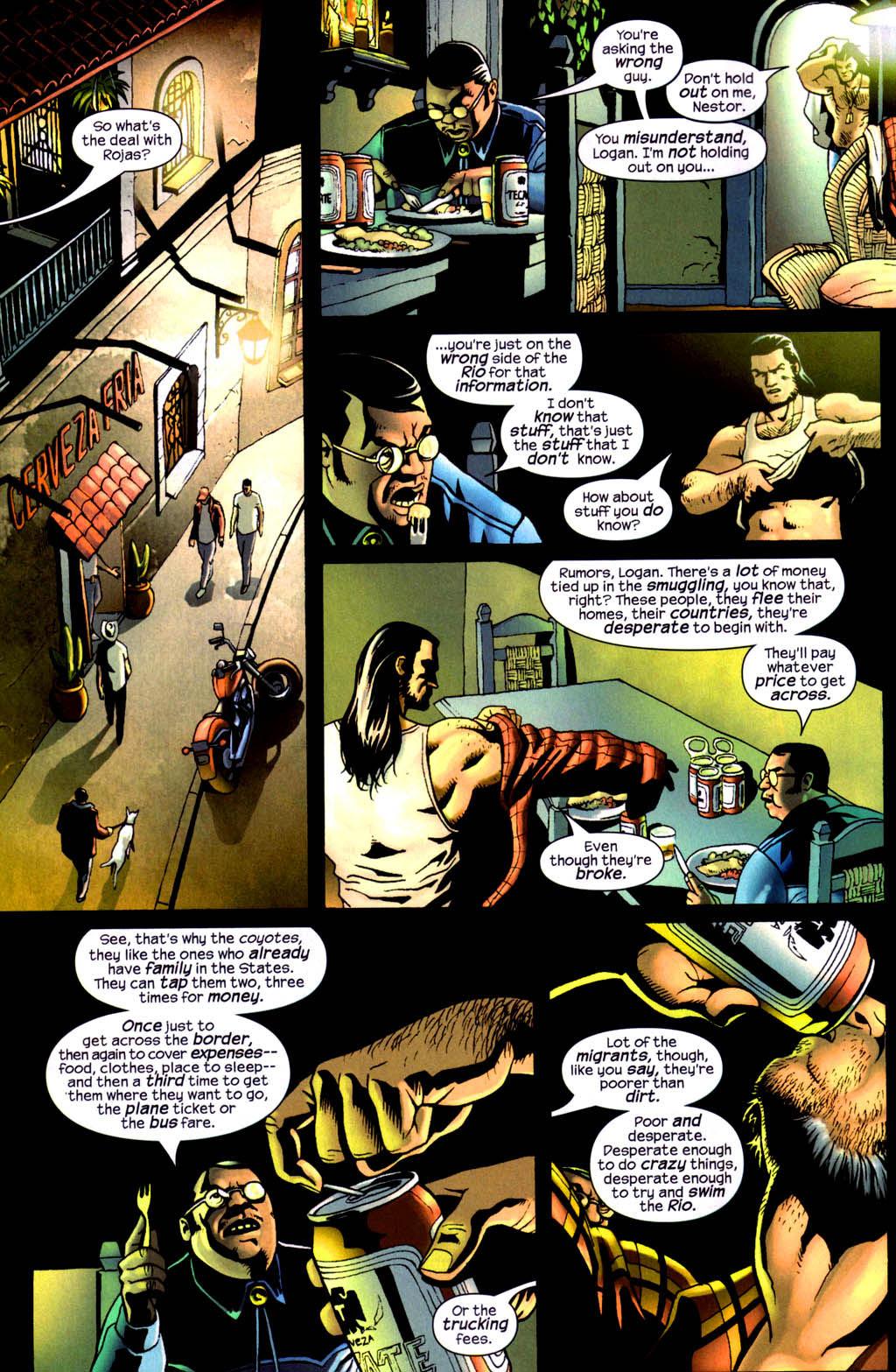 Read online Wolverine (2003) comic -  Issue #8 - 19