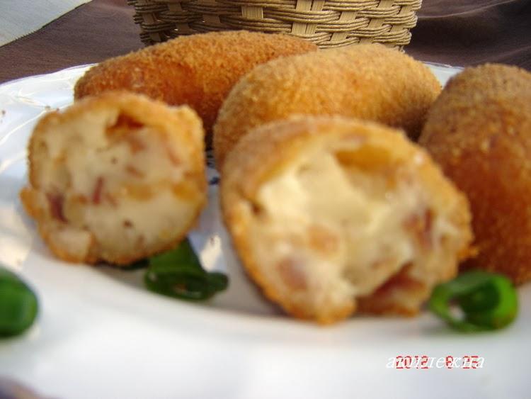 Заварные крокеты по испански с хамоном или с куриннным филе