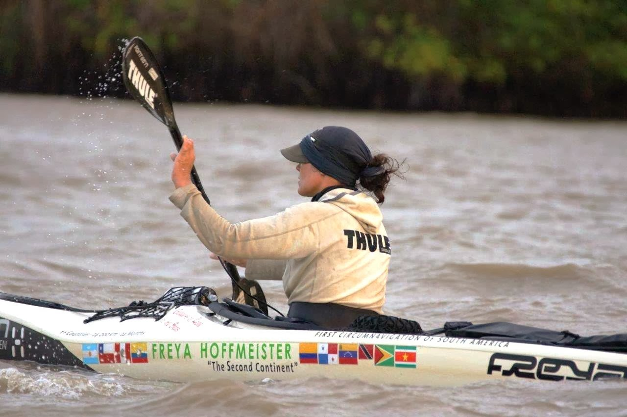 Kayaking Around South America: Freya Hoffmeister Closes In On Finish