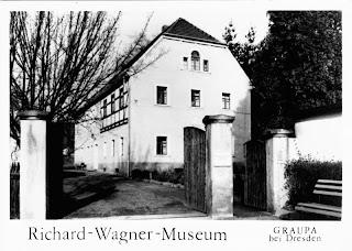 Das Richard-Wagner-Museum zu DDR-Zeiten