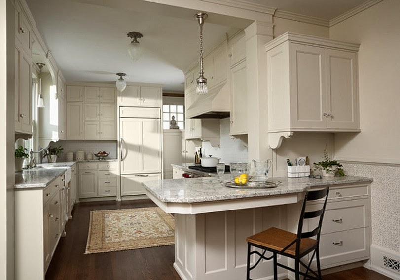 Astonishing Yellow Kitchen Walls Brown Cabinets