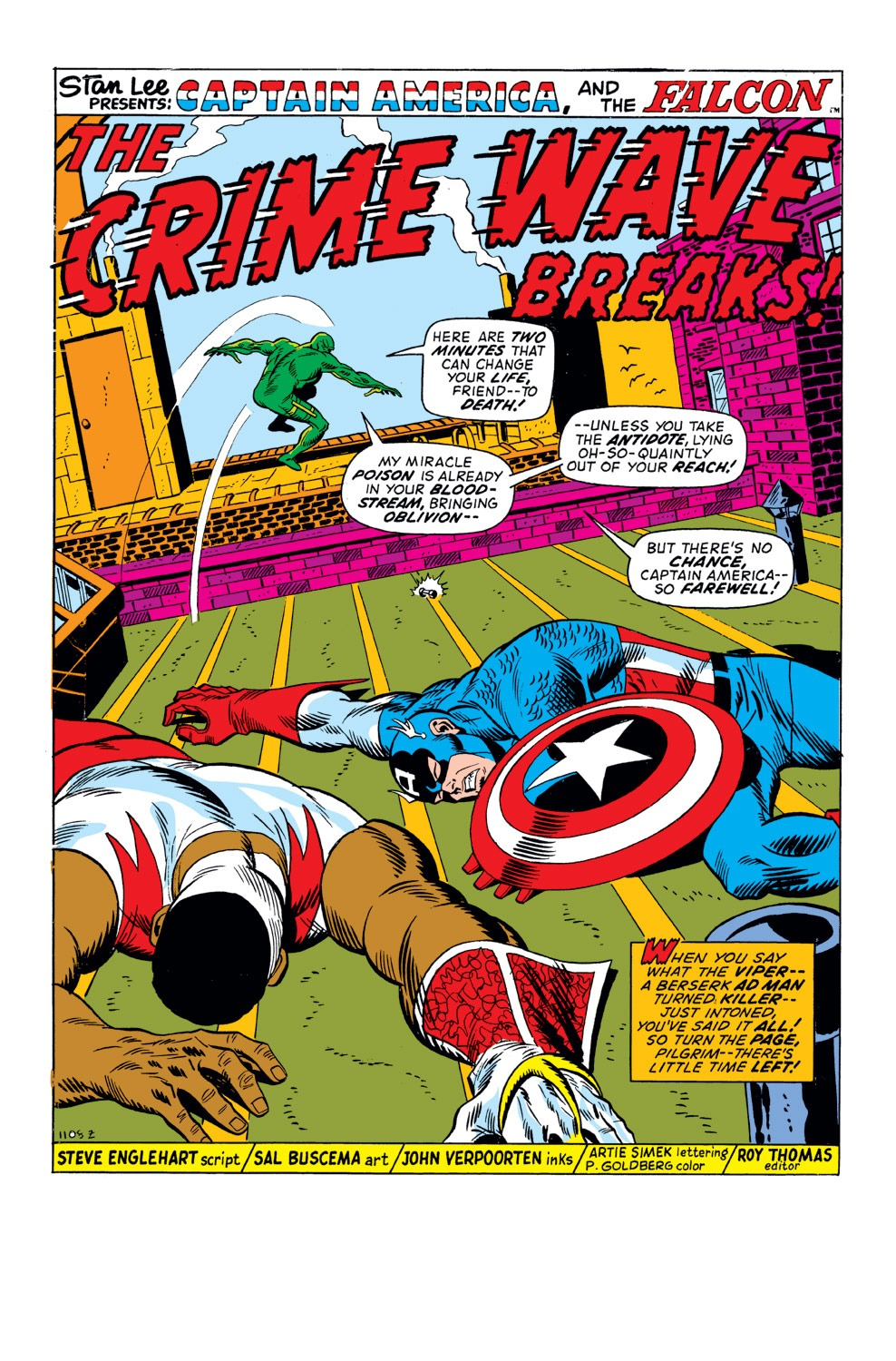 Captain America (1968) Issue #158 #72 - English 2