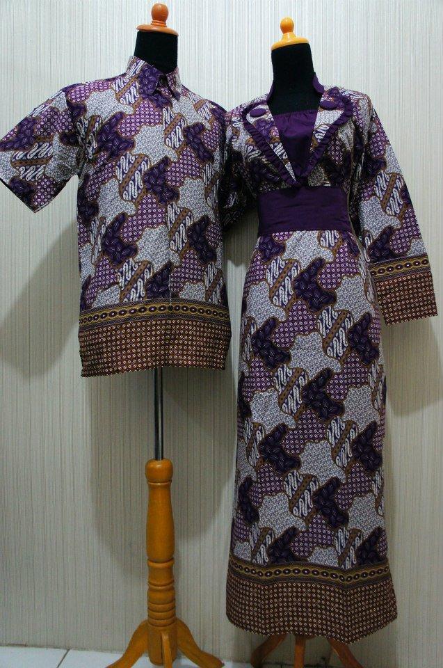 Baju Grosir Jogja Sarimbit Batik Formal Sbf Ungu Baju
