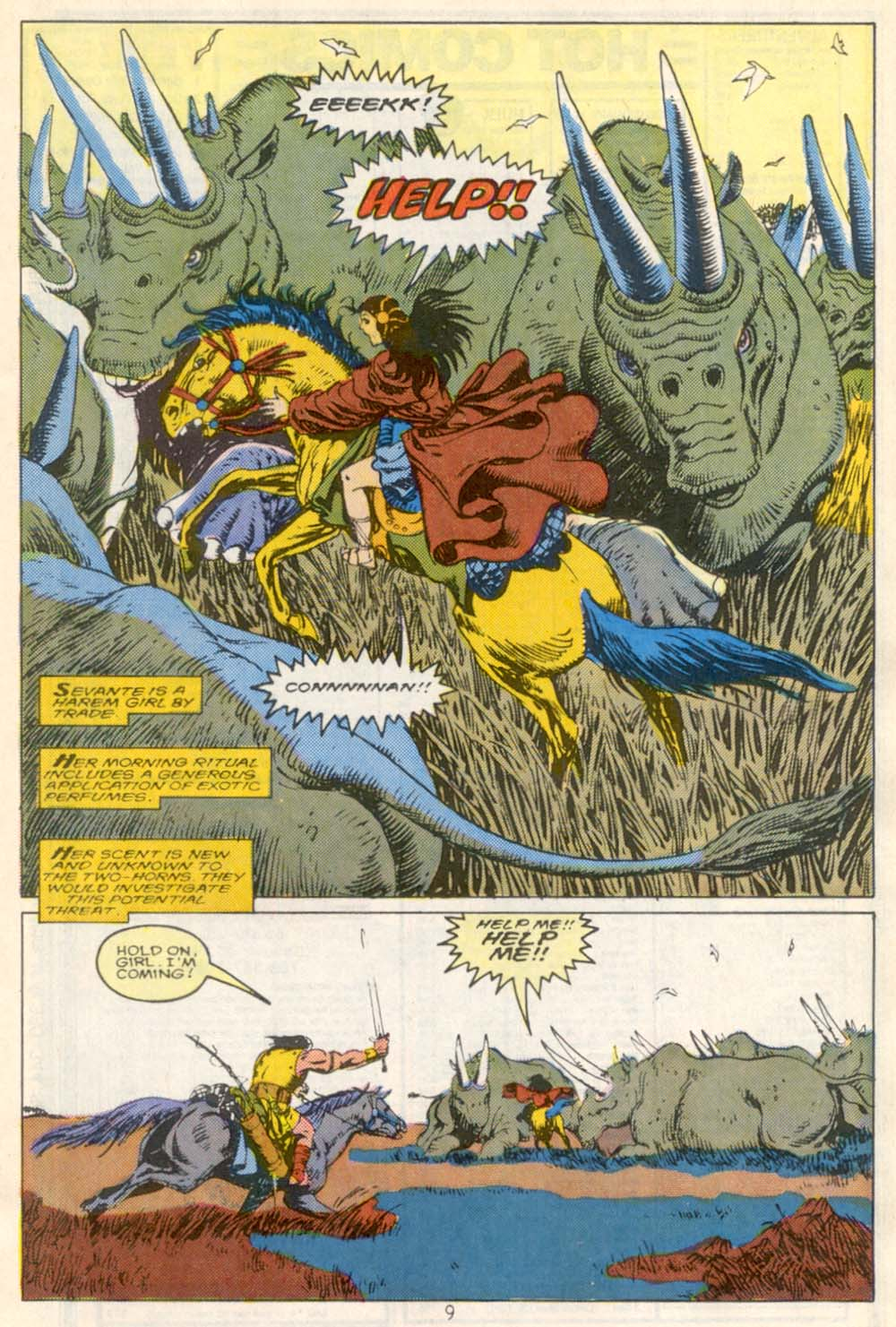 Conan the Barbarian (1970) Issue #210 #222 - English 8