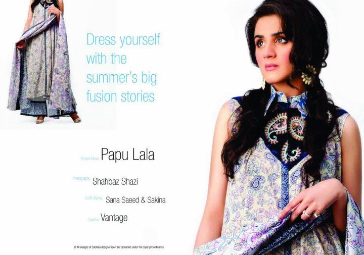 Subhata Designer Lawn Collection 2012 By Shariq Textiles  Aanchalmag