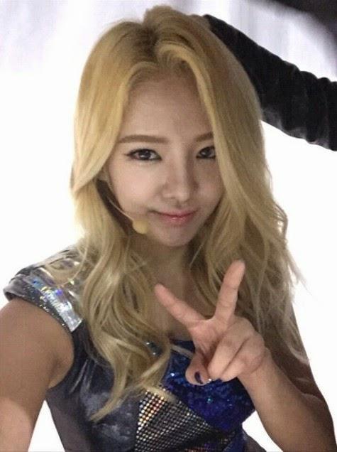 snsd hyoyeon weibo