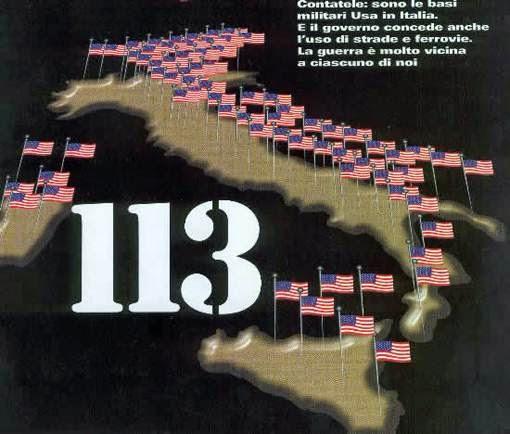 113 bases militares americanas en Italia no es coincidencia es estrategia!