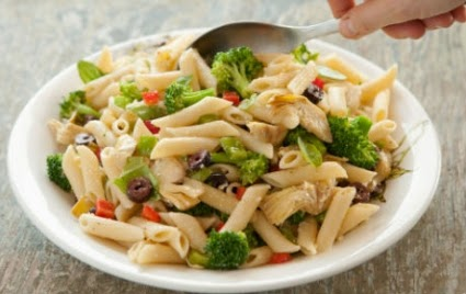 Artichoke & Broccoli Pasta Salad