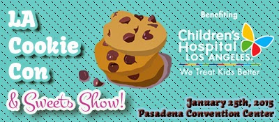 la-cookie-sweets-show-main-logo LA Cookie Con and Sweets Show is January 25th, 2015 - Things To Do In LA In January 2015