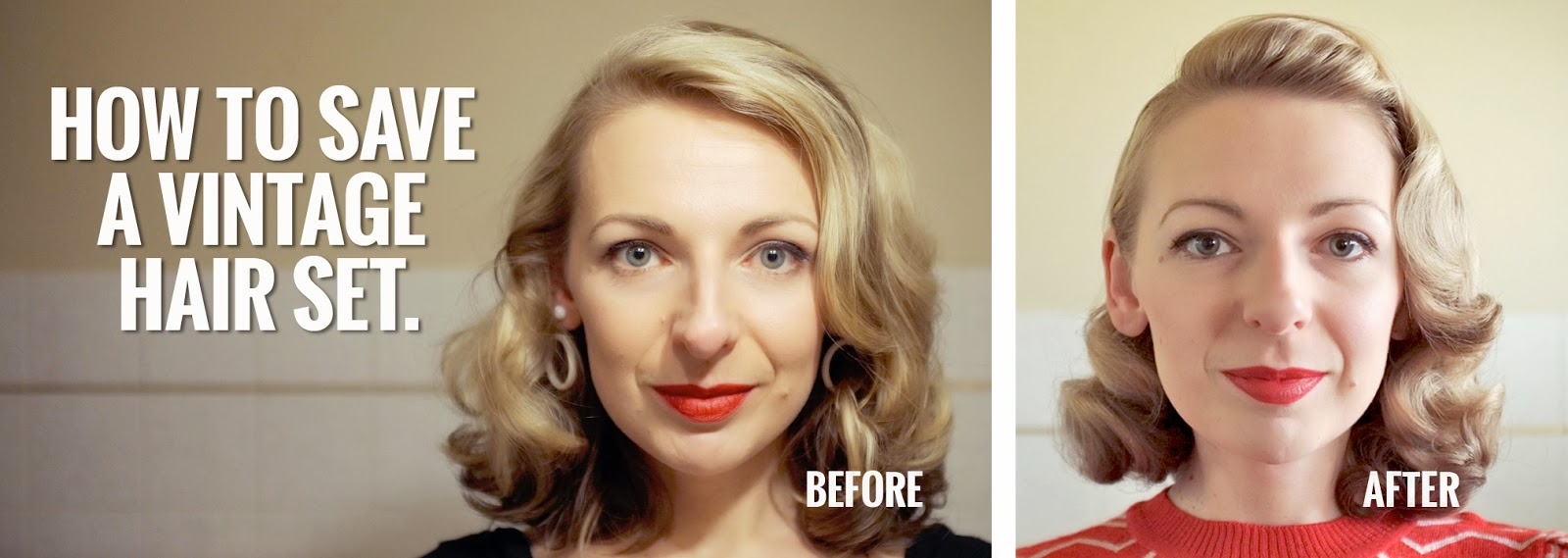Forbidden Charm How To Save A Vintage Hair Set