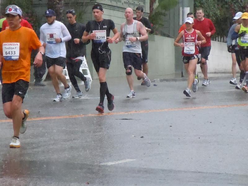 LA Marathon 2011 weather