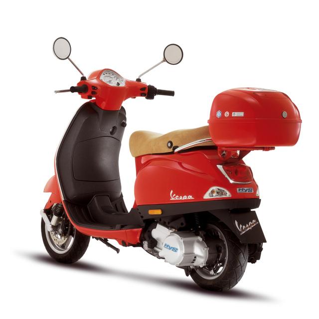2012 vespa lx 50 and vespa lx 150 best scooter motorboxer. Black Bedroom Furniture Sets. Home Design Ideas
