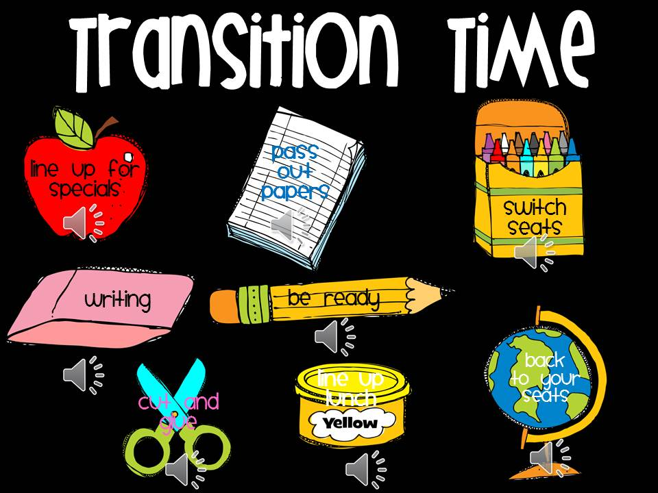 Classroom Transition Ideas ~ Fourth and ten managing transitions drawing