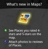 Google Maps Android app updated, lets users see places they've rated 4 and 5 stars, attach photos to reviews