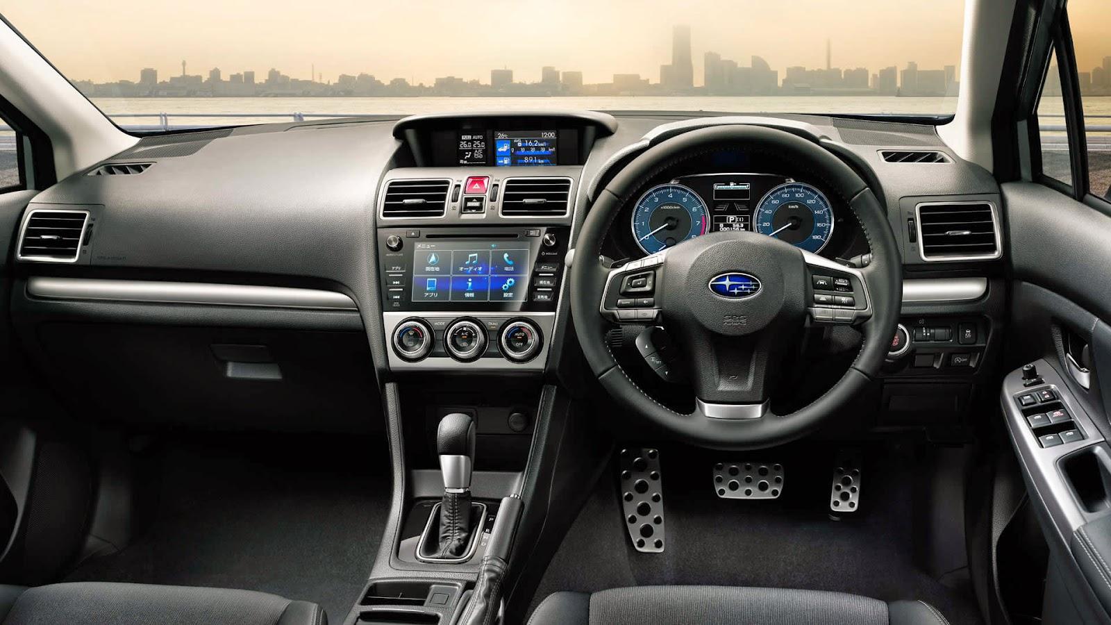 Leopaul 39 S Blog Subaru Impreza Sport And G4 2015 Minor Change