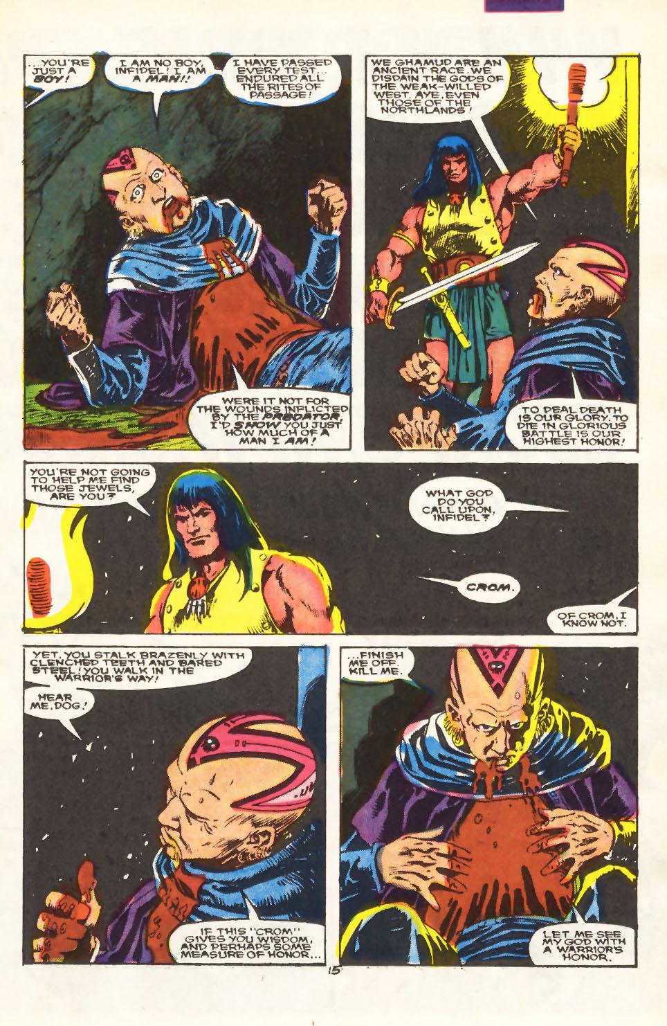 Conan the Barbarian (1970) Issue #212 #224 - English 11