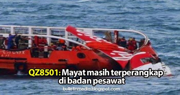 QZ8501: Mayat masih terperangkap di badan pesawat