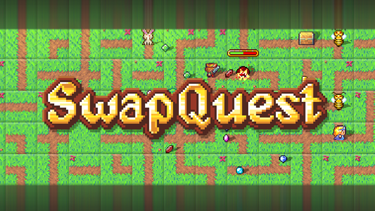 SwapQuest Gameplay IOS / Android