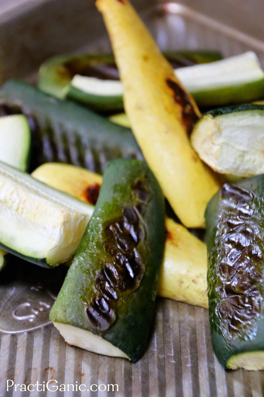 Roasted Zucchini & Corn Salsa | PractiGanic: Vegetarian ...