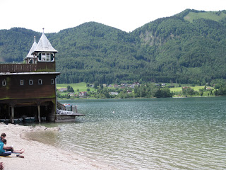 The resort town of Fussl Austria and headquarters of Red Bull