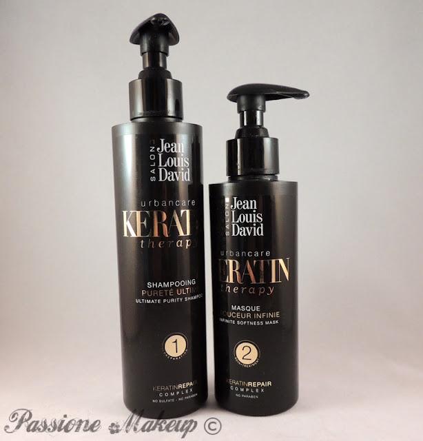 Jean Louis David Keratin Therapy Shampoo e Maschera