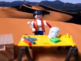 Svago e archeologia: i diorama playmobil.