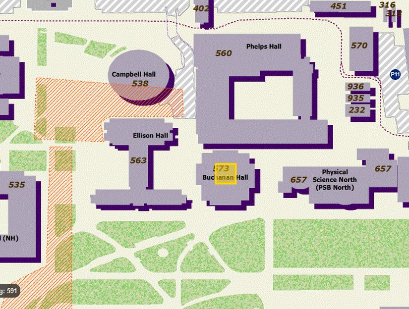 Bytemaps Ucsb Interactive Campus Map