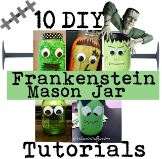 Frankenstein Mason Jar Tutorials