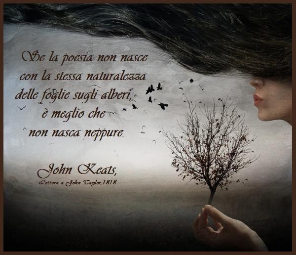 frasi d'amore keats