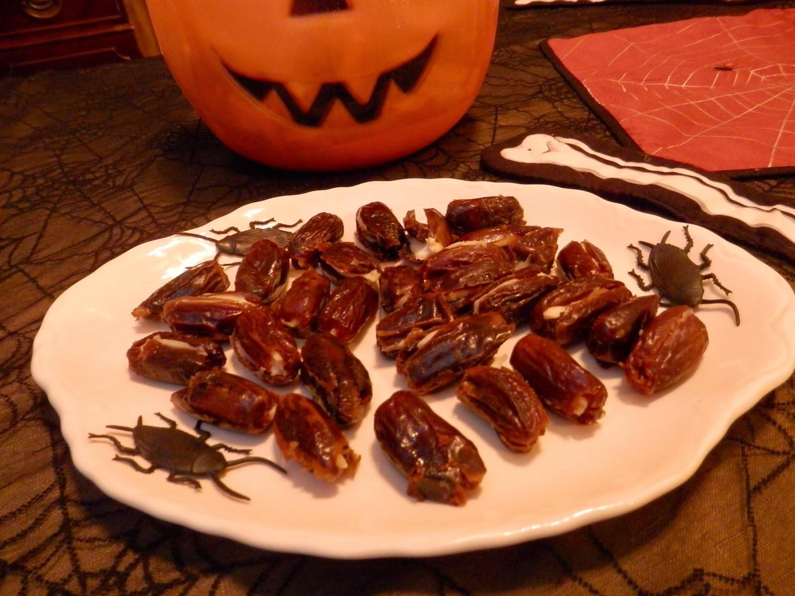 Halloween roach snacks