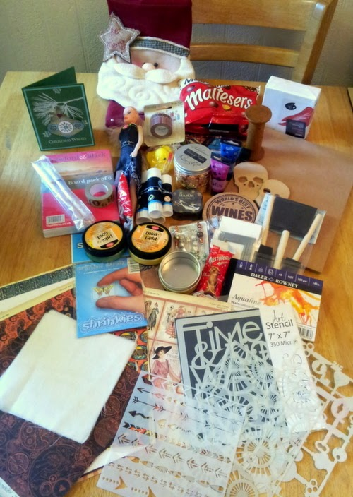 Whoopidooings: UKS Stocking Swap 2014