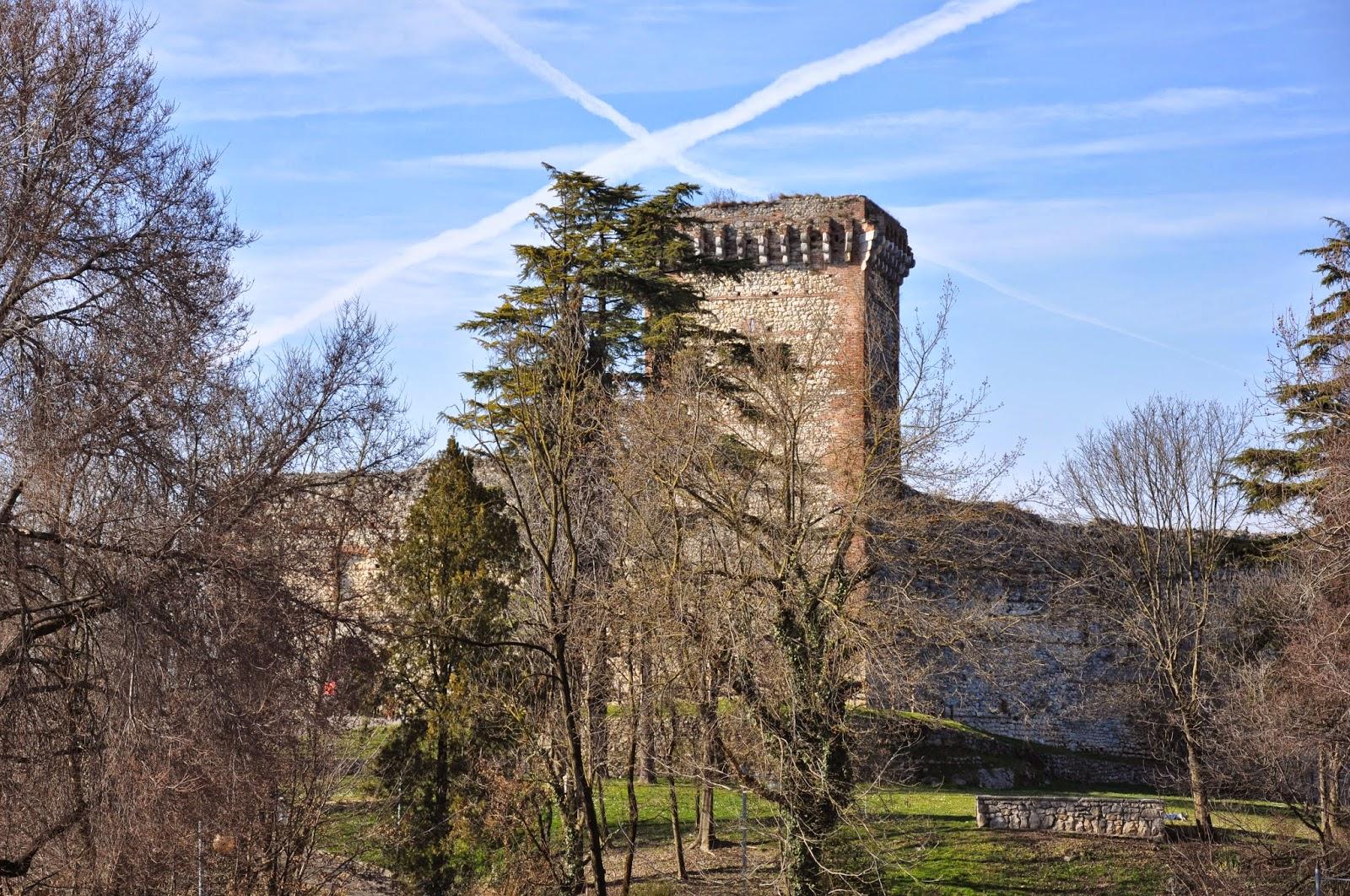 Romeo's Castle, Montechio Maggiore, Veneto, Italy