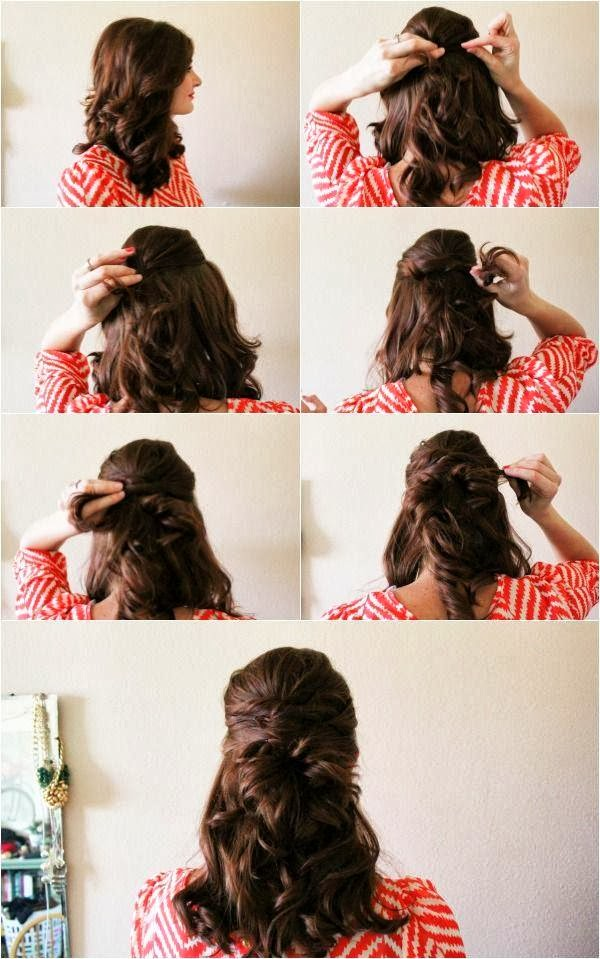 Idees Coiffure Cheveux Longs Attaches