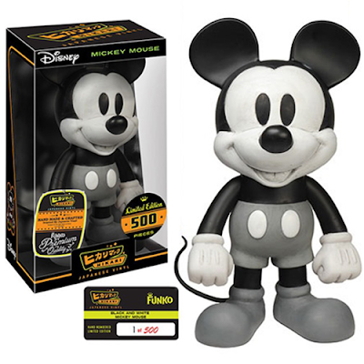 "Disney ""Black and White"" Mickey Mouse Hikari Sofubi Vinyl Figure by Funko"