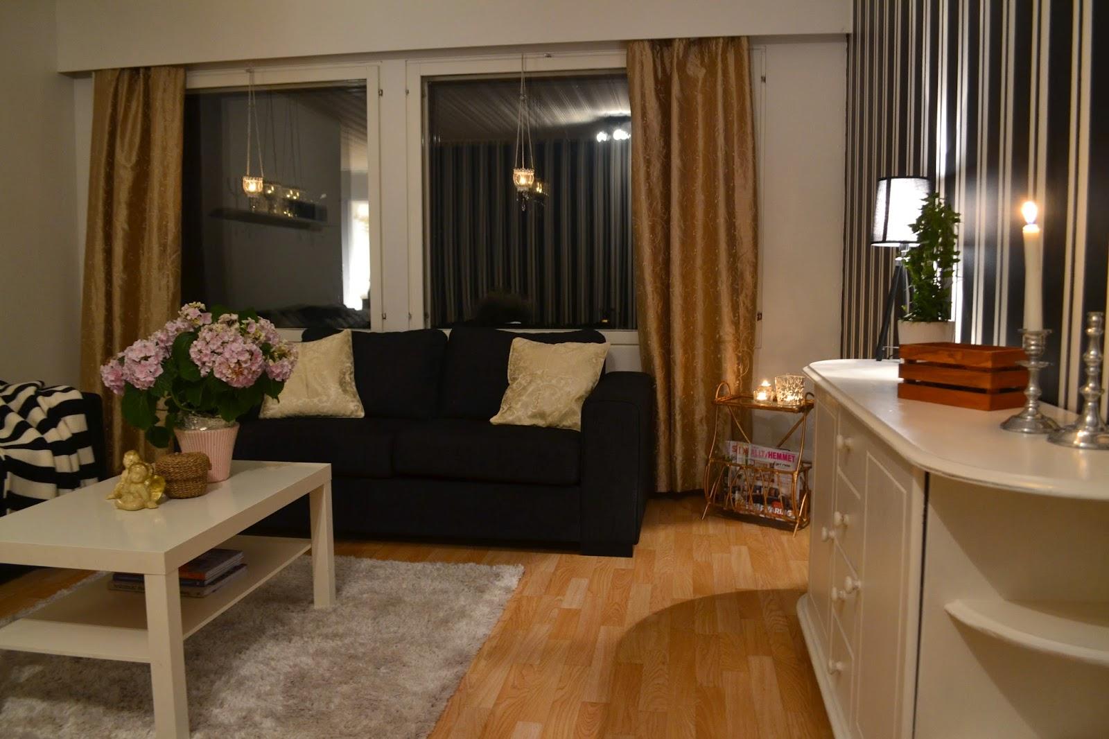 Minnas blogg: vårt fina vardagsrum