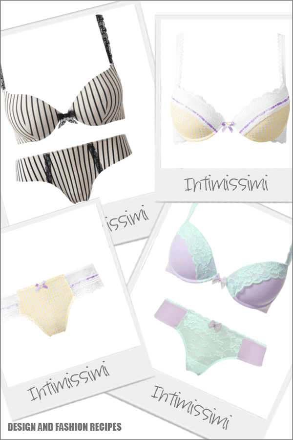 Underwear SS 2013 on Design and fashion recipes by Cristina Dal Monte