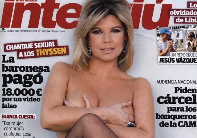 Terelu Campos No Sale Desnuda En Intervi Gracias