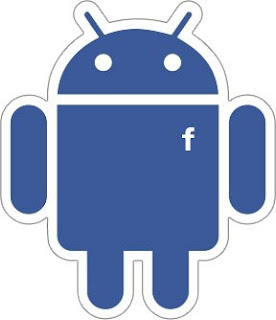 facebook android blue