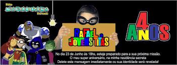Convite personalizado de Rafael