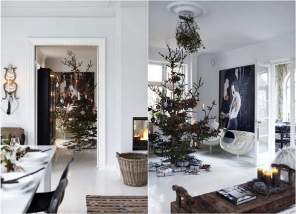 Una casa etnica e nordica decorata per il natale blog di for Case arredate con gusto