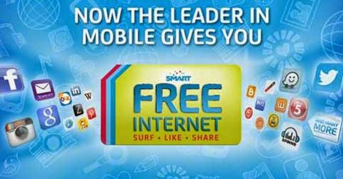 FREE to 9999, free internet Smart, free surfing Smart