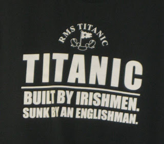 Titanic deception tee shirt