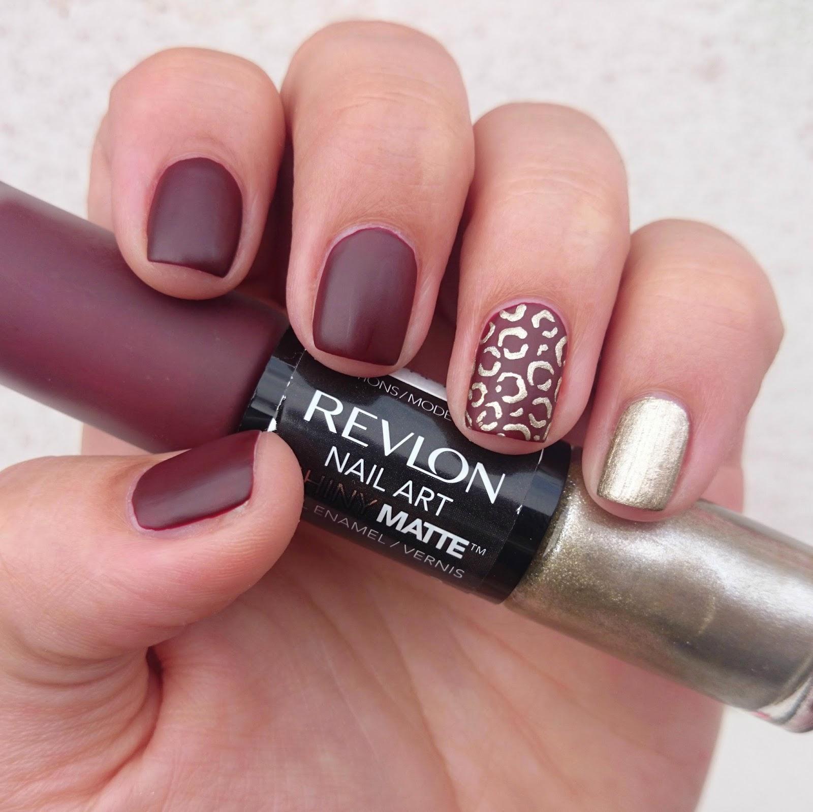 Dahlia Nails: Revlon Nail Art Duos